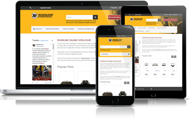 Roadlink - Resposive Online Truck Parts Catalogue